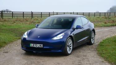Tesla Model 3 Long Range - front static