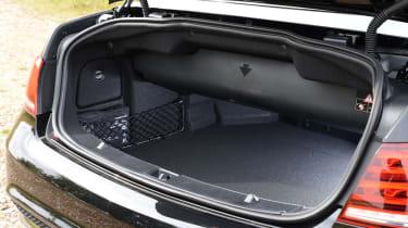 Mercedes E-Class Cabriolet boot