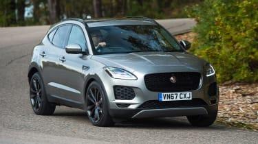 Jaguar E-Pace - front cornering