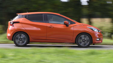 Long term Nissan Micra - second report - side profile