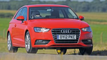 Audi A3 front action