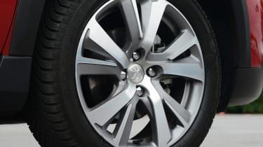 Peugeot 2008 - wheel detail