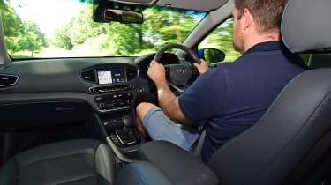 Hyundai Ioniq Plug-in - driving