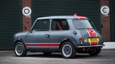 David Brown Automotive Mini Remastered Oselli Edition - rear static