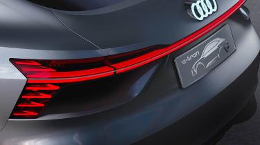 Audi e-tron Sportback concept - rear detail