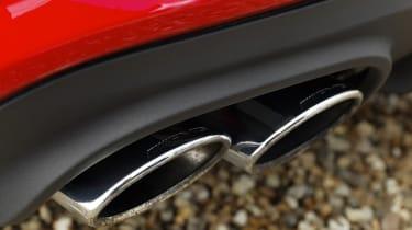 Mercedes SLK55 AMG exhausts