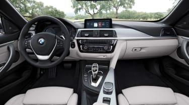 BMW 4 Series facelift 2017 - interior