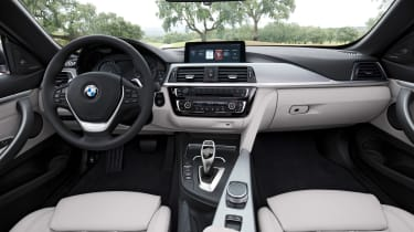 BMW 4 Series facelift 2017 - interior
