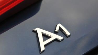 Audi A1 TDI Sport badge
