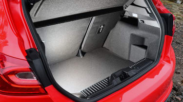 Ford Fiesta ST-Line - boot