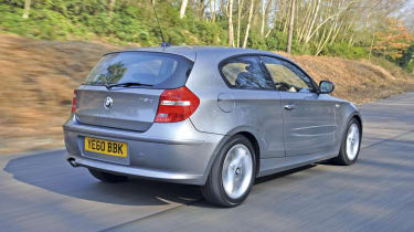 BMW 1-Series rear track