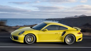 New 2016 Porsche 911 Turbo S side