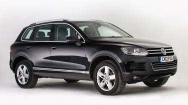 Used Volkswagen Touareg - front