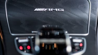 Mercedes AMG GLC 63 S - controls