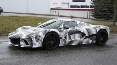 Ferrari hypercar - spyshot 5