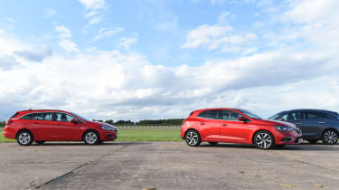 Renault Megane long term test - parallel parking