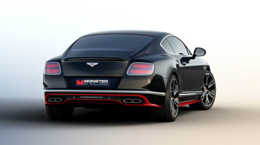 Bentley Monster by Mulliner - rear three quarter
