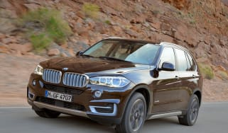 BMW X5 50i front action