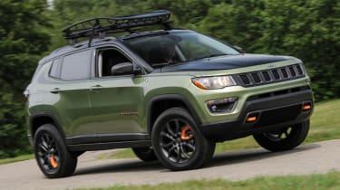 Jeep's wildest concepts driven - Trailpass front