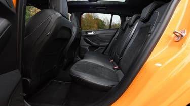 Ford Focus ST Estate: long-term test review  - first report - rear seats
