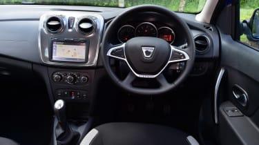 Dacia Logan MCV Stepway - dash