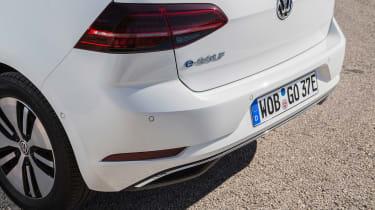 Volkswagen e-Golf - rear detail