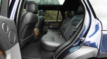 Range Rover - rear seats