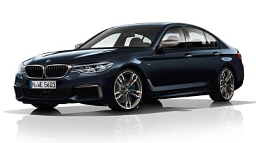 BMW M550d xDrive - front
