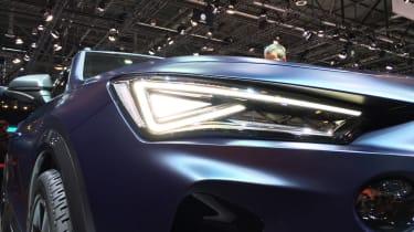 Cupra Formentor at Geneva 2019 lights