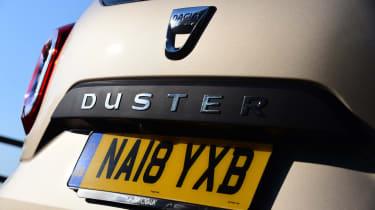 Dacia Duster rear badges