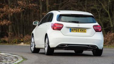 Mercedes A200d rear