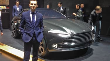 An Aston Martin crossover is enough to make Aston fans spit blood, and while I thought that would include me, I have to say I was drawn to it. Aston last showed off a crossover concept in the form of the Lagonda a few years ago, and as