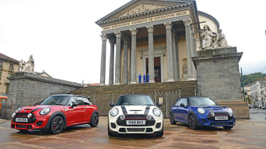 The Italian Job - group shot
