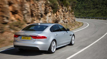 Jaguar XF R-Sport - rear action
