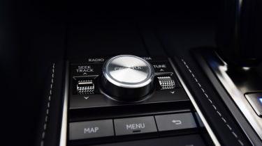 Lexus LC 500h - controls
