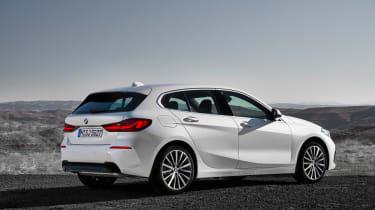 New BMW 1 Series 2019 rear static