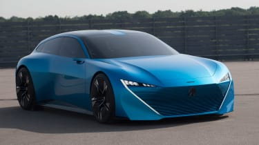 Peugeot Instinct Concept - front static