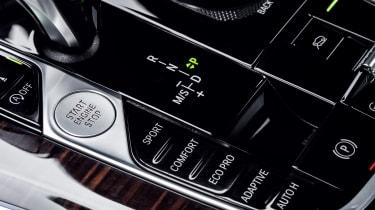 BMW X5 - centre console details