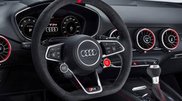 Audi TT RS and Audi R8 performance parts - Audi TT RS steering wheel