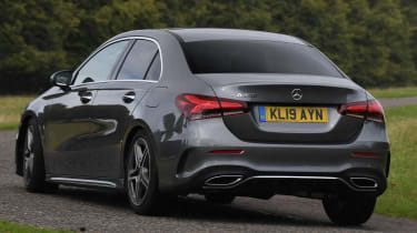 Mercedes A 250 Saloon - rear cornering