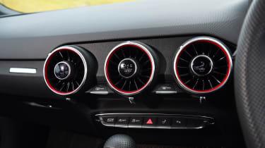 Audi TTS - vents