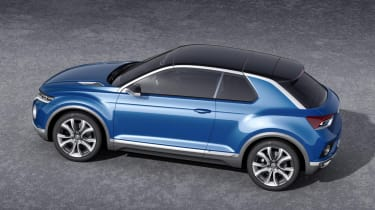 VW T-ROC concept 2014 roof on