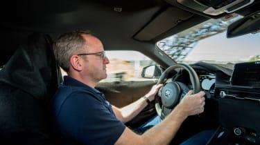 Toyota Supra prototype - Stu Gallagher driving