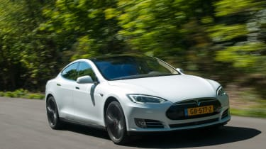 The P85D is the fastest version of the Tesla Model S yet.