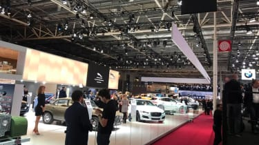 Paris Motor Show 2018 - show stands