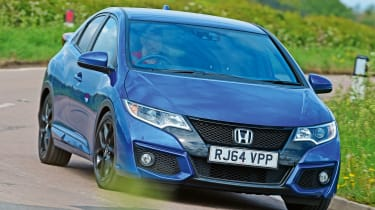 Honda Civic - front cornering