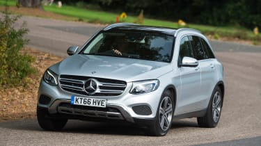Mercedes GLC - front cornering