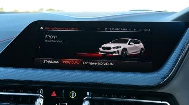 BMW 128ti - screen
