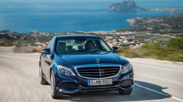 Mercedes C-Class 2014 tracking - non-UK model