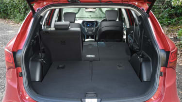 Hyundai Santa Fe - boot